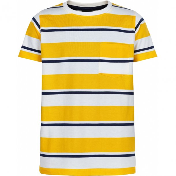THE NEW - T-Shirt i gulstribet. Odwin