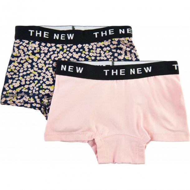 THE NEW - 2 pak hipster i mønstret og rosa
