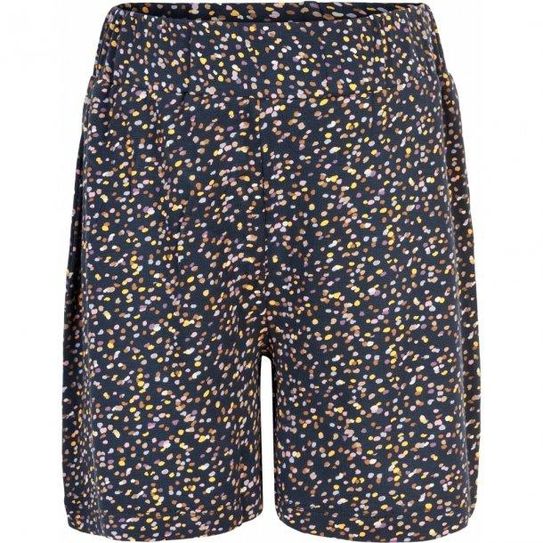 THE NEW - Shorts i blå med confetti. Polly