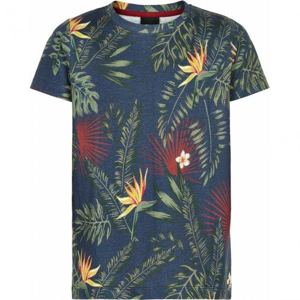 THE NEW - T-Shirt i blomstret. Paz