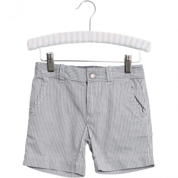 WHEAT - Shorts i grå-blå stribede. Mingus