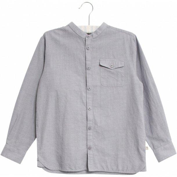 WHEAT - Skjorte i flintstone. Bernard