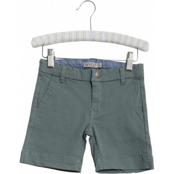WHEAT - Shorts chino i petrol. Ditmer