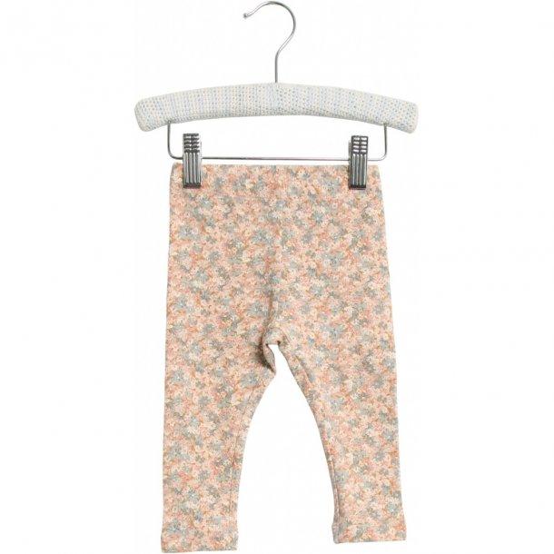 WHEAT - Baby leggings i multi flowers.