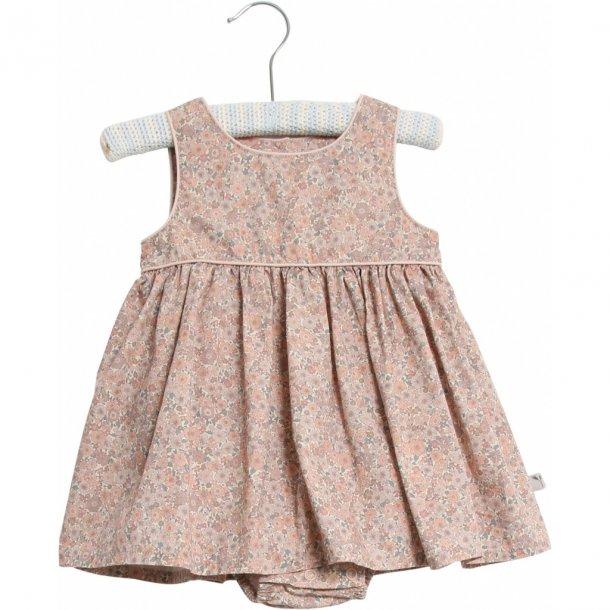 WHEAT - Baby kjole med body i powder flowers. Ada