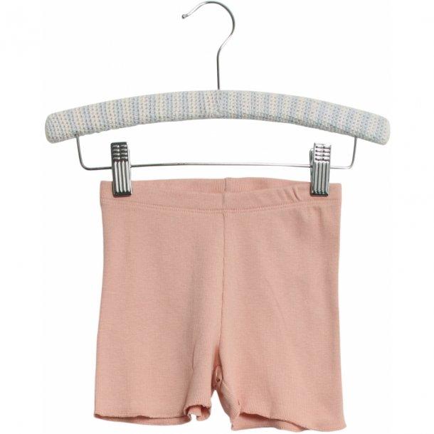 WHEAT - Rib shorts i misty rose